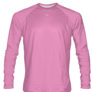 Pink Long Sleeve Softball Jerseys