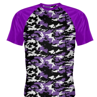 Purple Camouflage Shooting Shirts