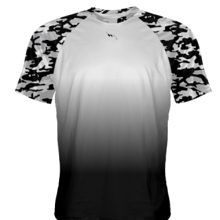 Boys Camouflage Practice Shirts