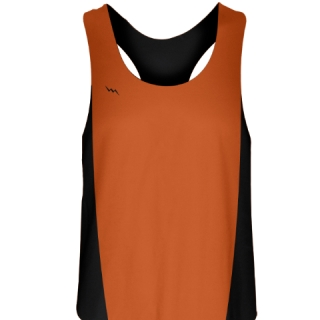 Orange Field Hockey Pinnies