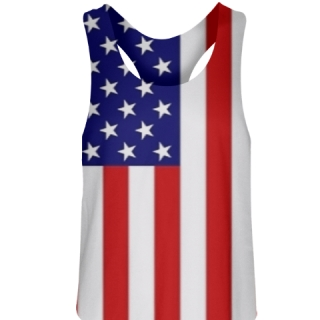 American Flag Field Hockey Pinnies