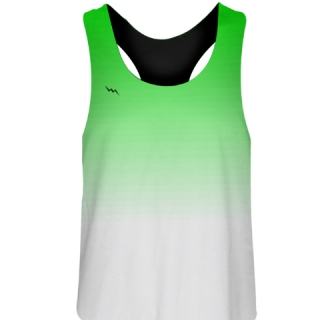 Green Fade Girls Field Hockey Pinnies