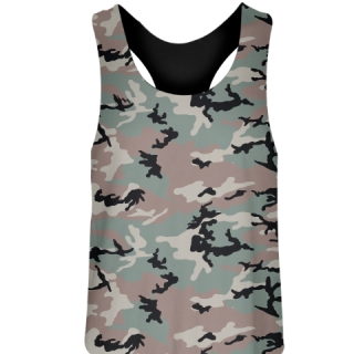 Camouflage Field Hockey Pinnies
