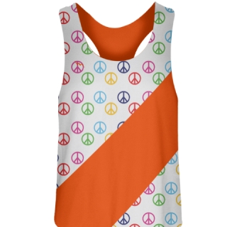 Peace Sign Field Hockey Pinnies
