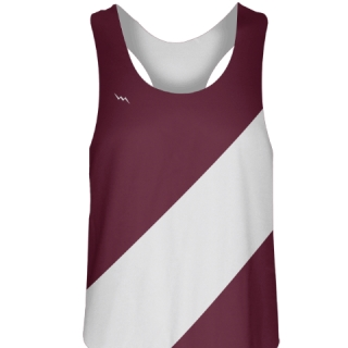 Maroon Field Hockey Pinnies