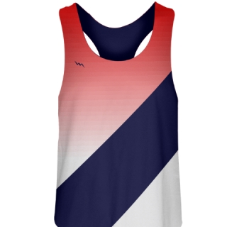Red Fade Field Hockey Pinnies