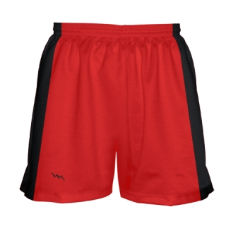 Red Black Field Hockey Shorts