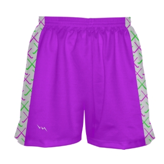 Light Purple Field Hockey Shorts