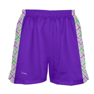 Purple Field Hockey Shorts
