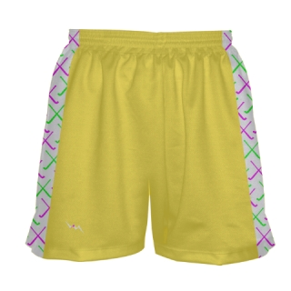 Yellow Field Hockey Shorts