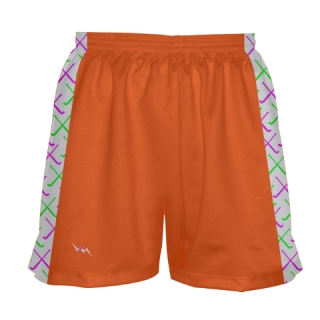 Orange Field Hockey Shorts