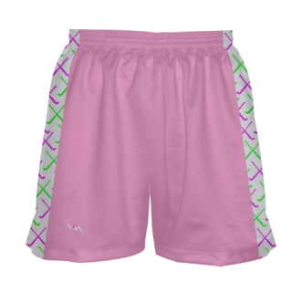 Pink Field Hockey Shorts