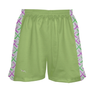 Lime Green Field Hockey Shorts