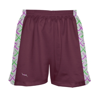 Maroon Field Hockey Shorts