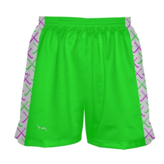 Neon Green Field Hockey Shorts