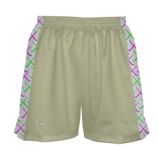 Vegas Gold Field Hockey Shorts