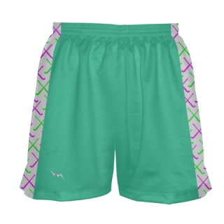 Teal Field Hockey Shorts
