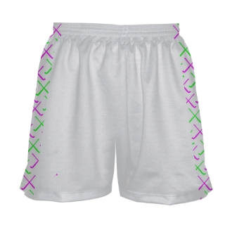 White Field Hockey Shorts