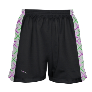 Black Field Hockey Shorts