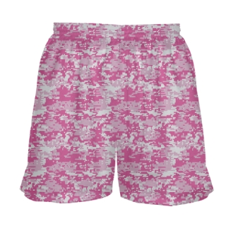 Pink Camouflage Field Hockey Shorts