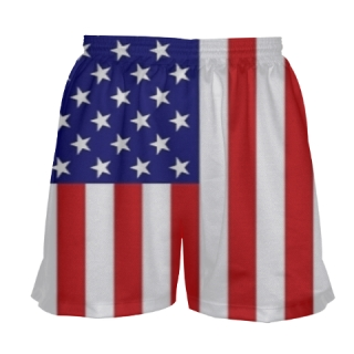 USA Flag Field Hockey Shorts