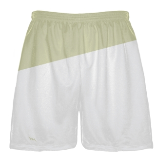 White Hockey Shorts