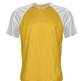 Athletic Gold Lacrosse Shirts