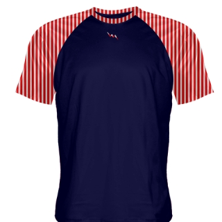 Red Striped Lacrosse Shirts