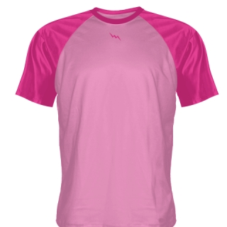 Fluorescent Pink Lacrosse Shirts