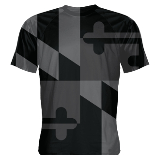 Black Ops Maryland Flag Shirts
