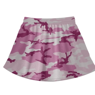 Pink Camouflage Field Hockey Skirts