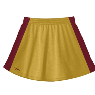 Athletic Gold Field Hockey Skirts
