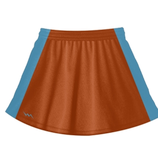 Orange Field Hockey Skirts