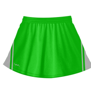 Neon Green Field Hockey Skirts