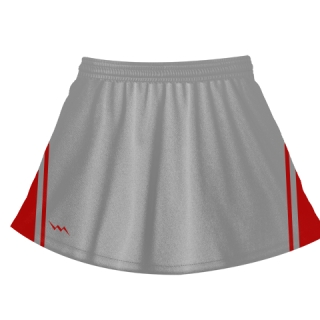 Silver Field Hockey Skirts