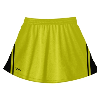 Yellow Field Hockey Skirts