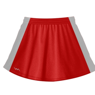 Red Lacrosse Skirts