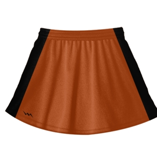 Orange Lacrosse Skirts