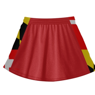 Maryland Flag Lacrosse Skirts