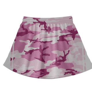 Pink Camouflage Lacrosse Skirts