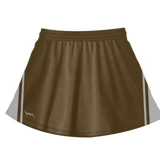 Brown Lacrosse Skirts