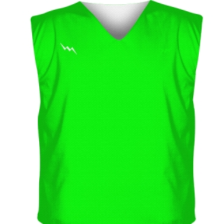Neon Green Reversible Jerseys