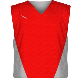Red Reversible Jerseys Collegiate Cut