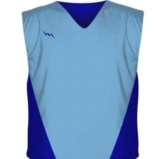 Powder Blue Collegiate Cut Reversible Jerseys
