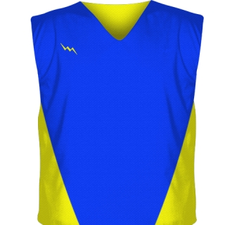 Royal Blue Collegiate Cut Reversible Jerseys