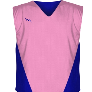 Light Pink Collegiate Cut Reversible Jerseys