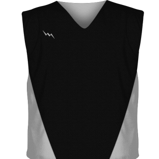 Black Collegiate Cut Reversible Jerseys