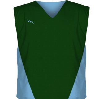 Dark Green Collegiate Cut Reversible Jerseys
