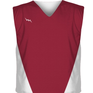 Cardinal Red Collegiate Cut Reversible Jerseys