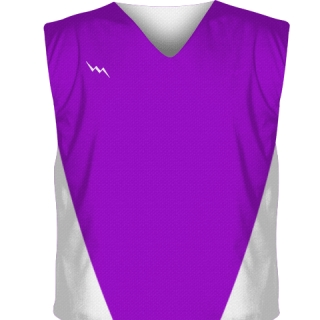 Purple Collegiate Cut Reversible Jerseys